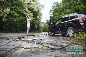 what constitutes leaving the scene of an accident