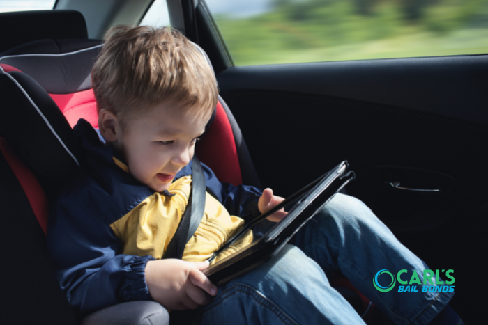 Leaving Kids in Hot Cars in California